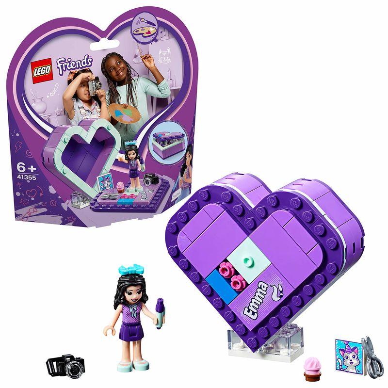 LEGO FRIENDS * CAJA CORAZON DE EMMA R: 41355
