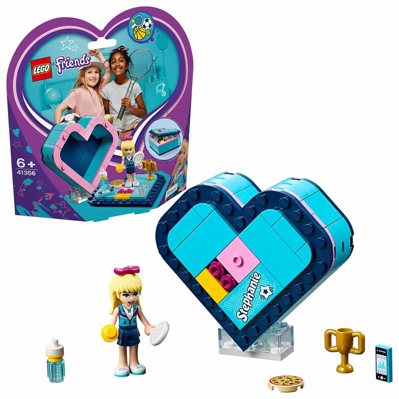 LEGO FRIENDS * CAJA CORAZON DE STEPHANIE R: 41356