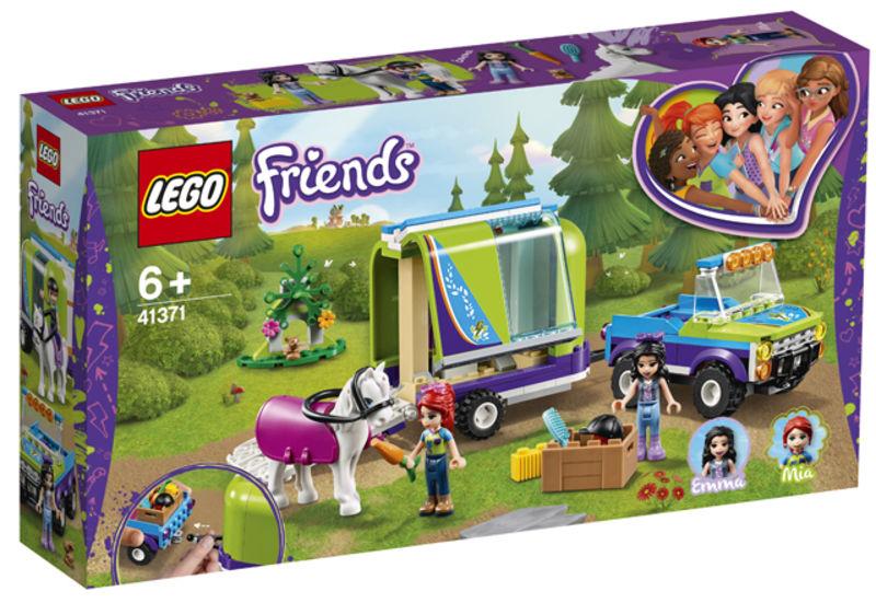 LEGO FRIENDS * REMOLQUE DEL CABALLO DE MIA