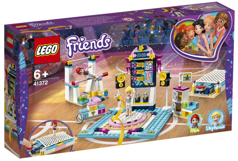 LEGO FRIENDS * EXIBICIO DE GIMNASIA DE STEPHANIE