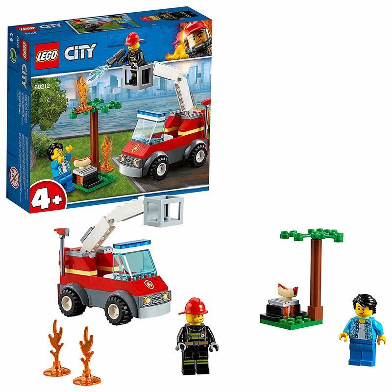 LEGO CITY * INCENDIO EN LA BARBACOA R: 60212