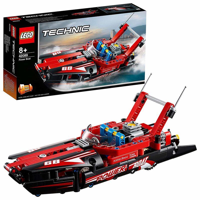 LEGO TECHNIC * LANCHA DE COMPETICION R: 42089