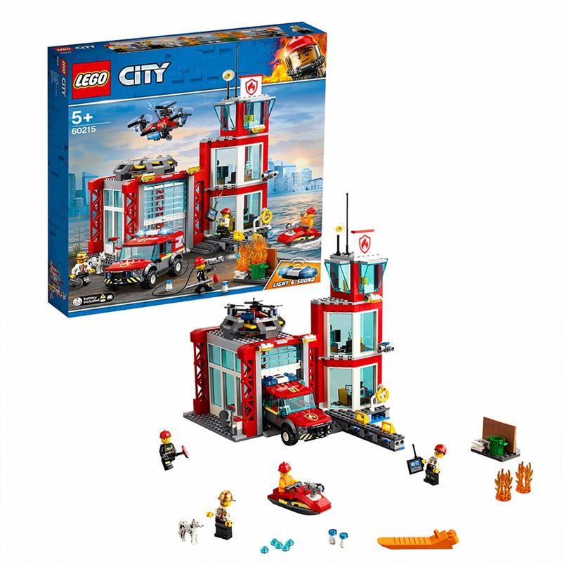 LEGO CITY * PARQUE DE BOMBEROS R: 60215