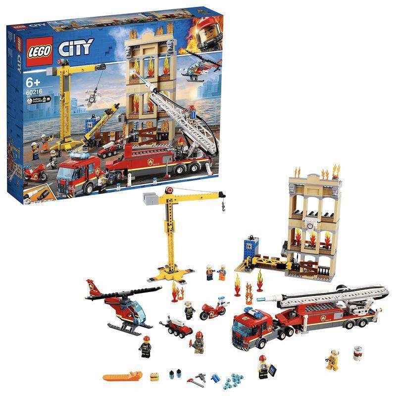 LEGO CITY * BRIGADA DE BOMBEROS DISTRINTO CENTRO