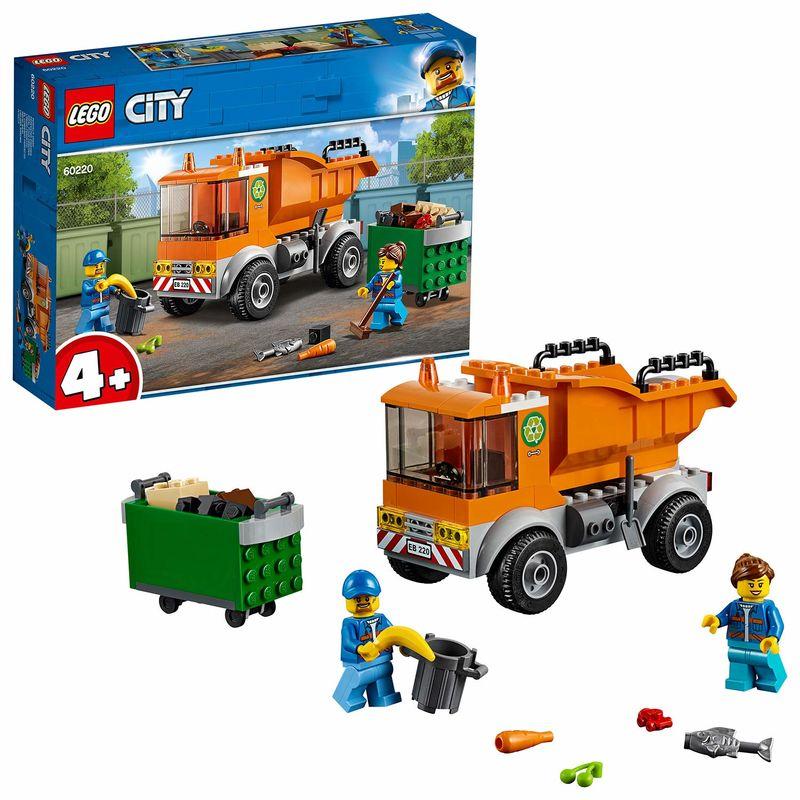 LEGO CITY * CAMION DE BASURA R: 60220