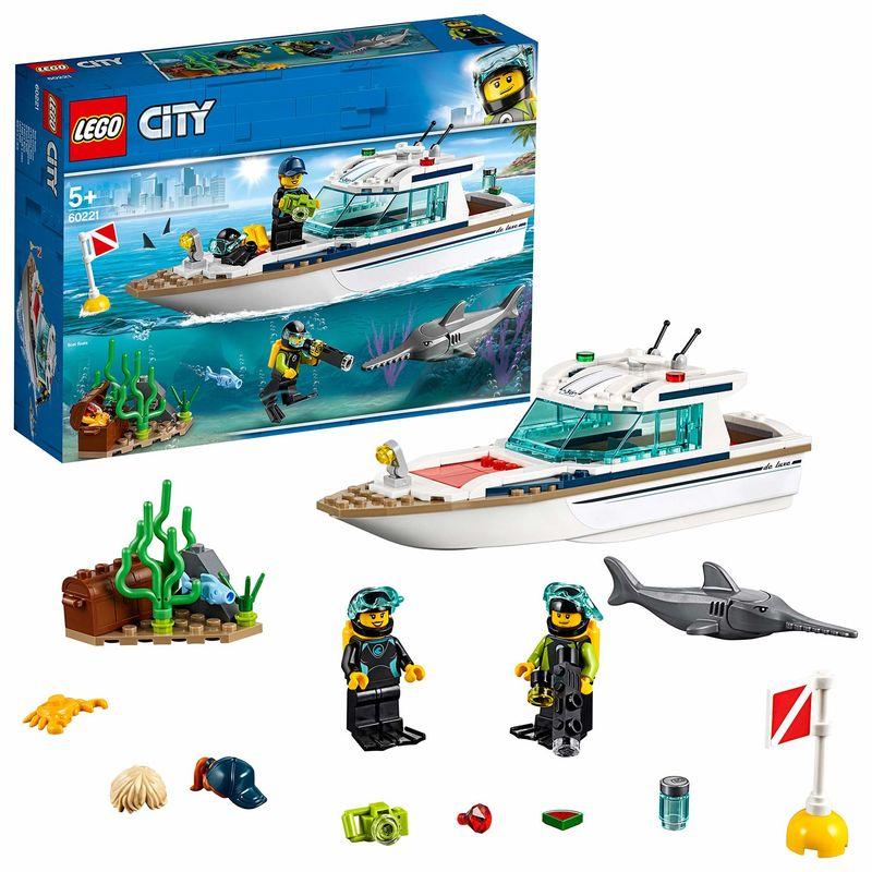 LEGO CITY * YATE DE BUCEO R: 60221
