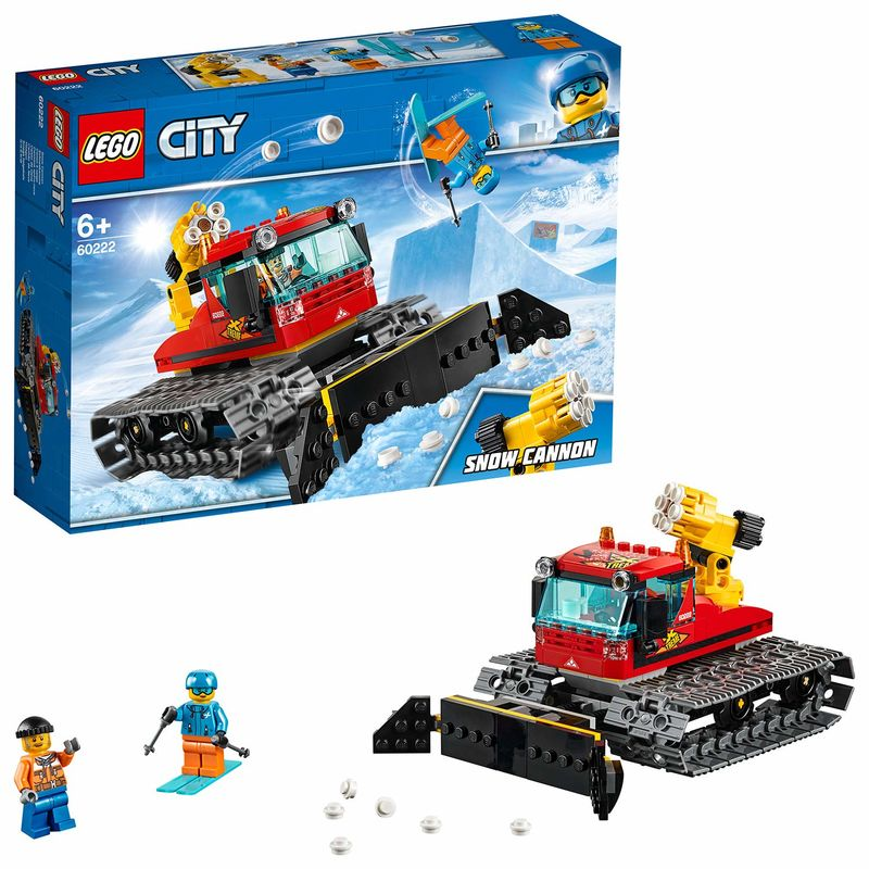 LEGO CITY * MAQUINA PISANIEVES R: 60222