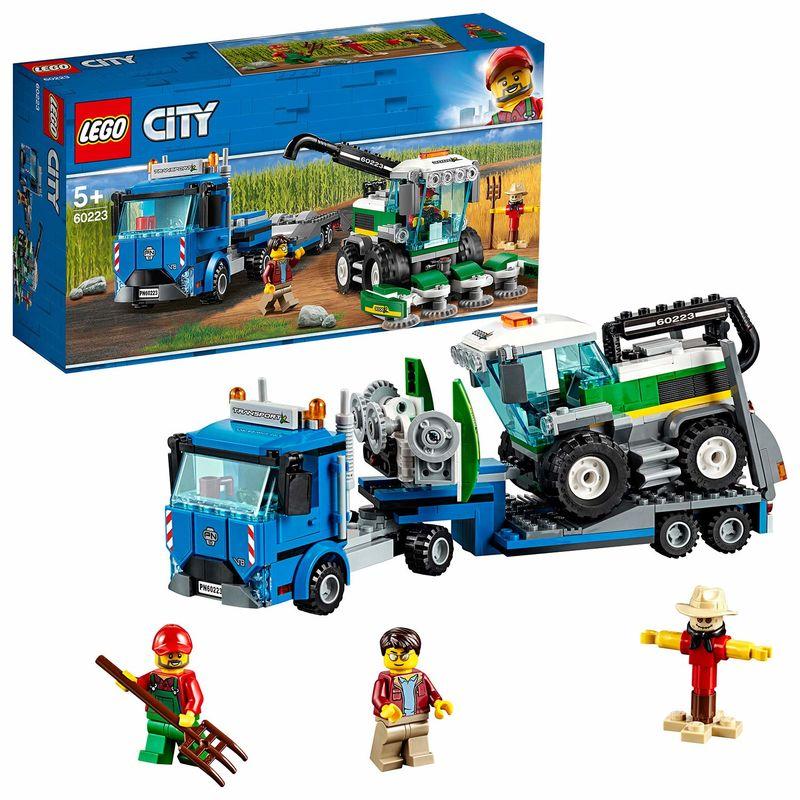 LEGO CITY * TRANSPORTE DE LA COSECHADORA R: 60223