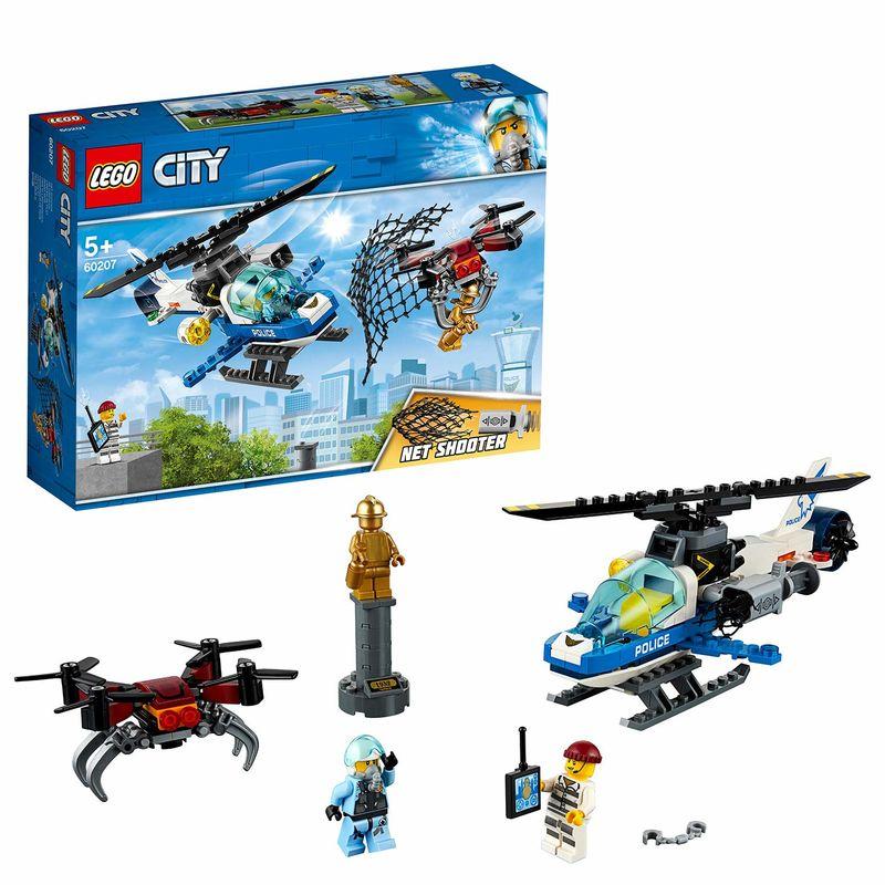 LEGO CITY * POLICIA AEREA : A LA CAZA DEL DRON R: 60207