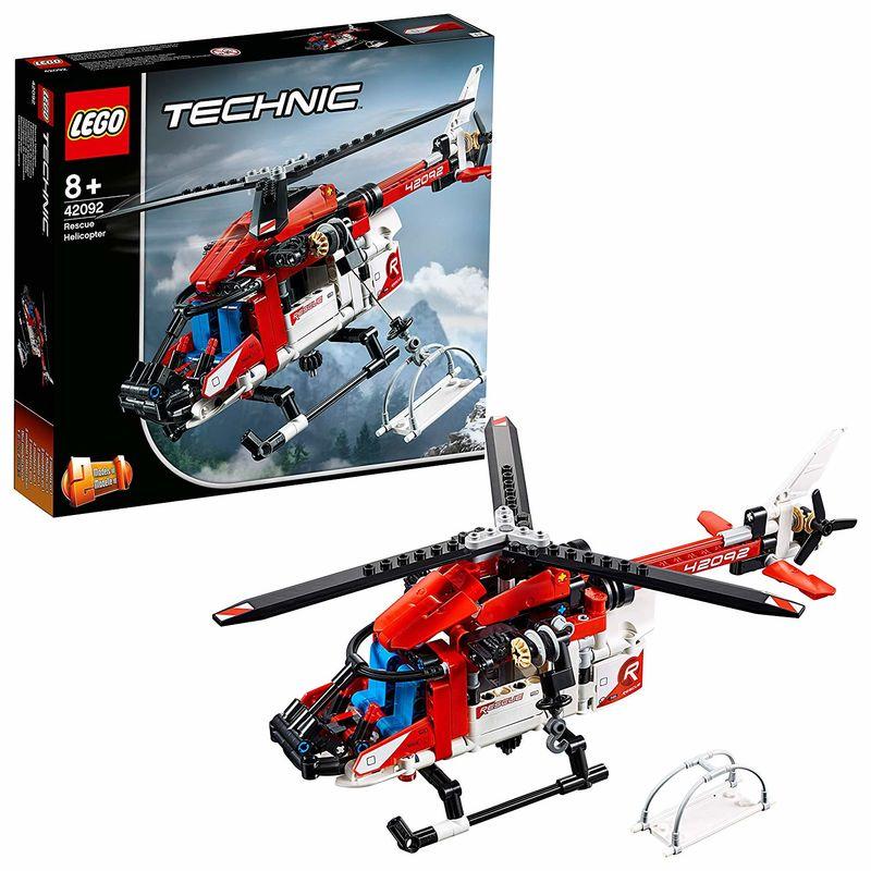 LEGO TECHNIC * HELICOPTERO DE RESCATE R: 42092