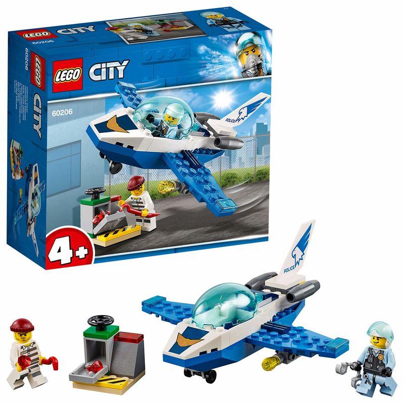 LEGO CITY * POLICIA AEREA : JET PATRULLA R: 60