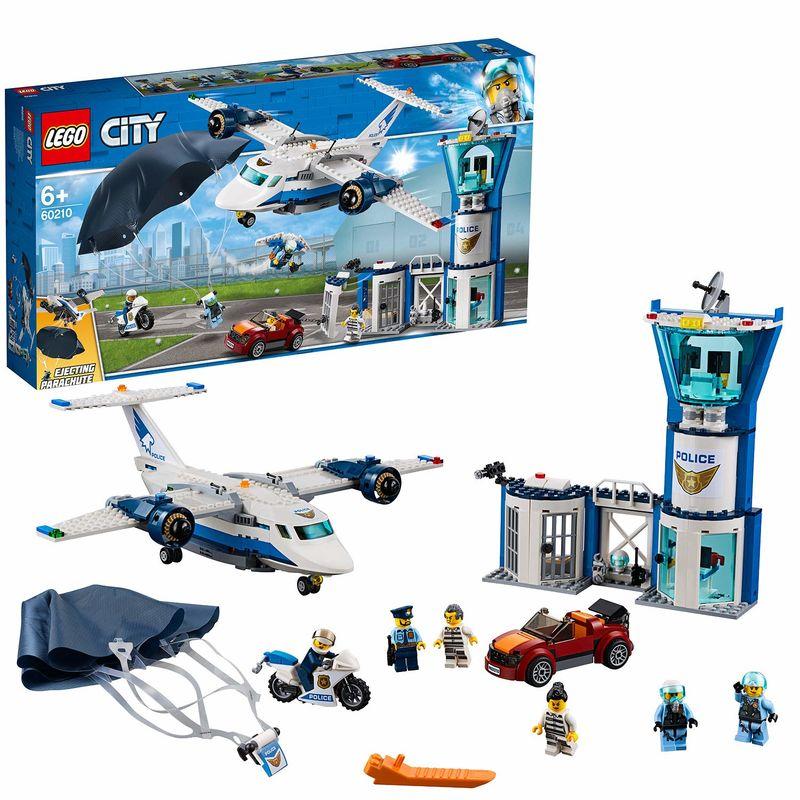 LEGO CITY * POLICIA AEREA : BASE DE OPERACIONES R: 60210