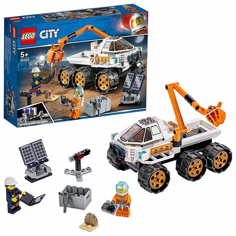 LEGO CITY * PRUEBA DE CONDUCCION DEL ROVER