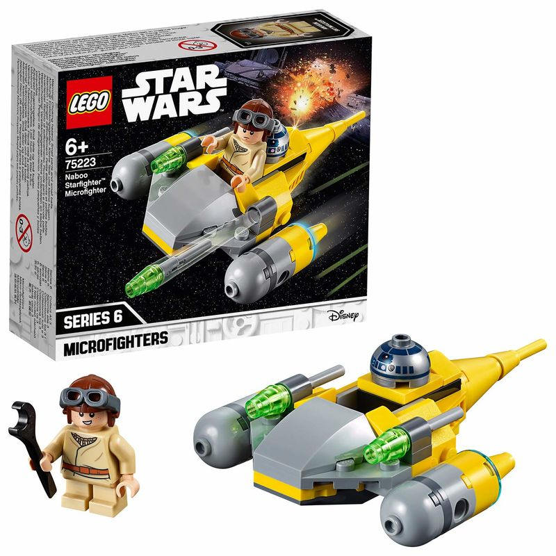 LEGO STAR WARS * MICROFIGHTER : CAZA ESTELAR R: 75223