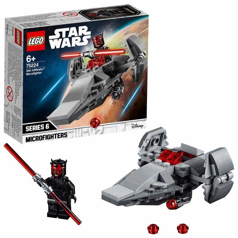 LEGO STAR WARS * MICROFIGHTER : INFILTRADOR SITH R: 75224