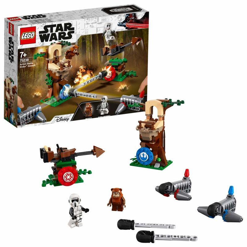 LEGO STAR WARS * ACTION BATTLE - ASALTO A ENDOR
