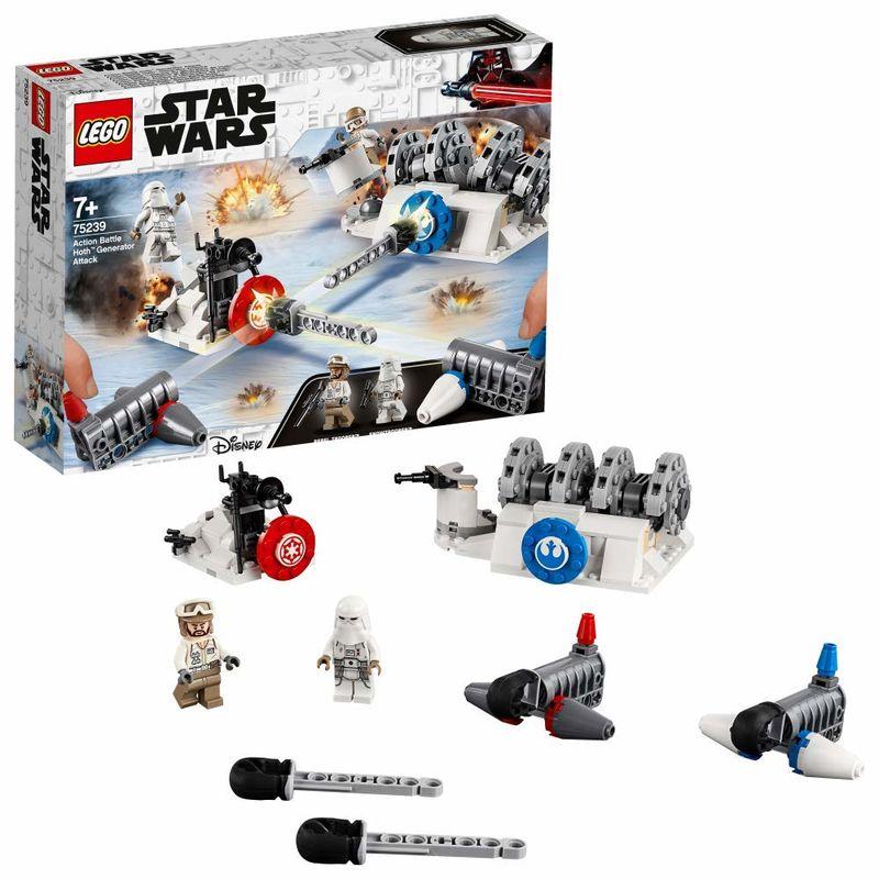 Lego Star Wars * Action Battle - Ataque Al Gen. . -