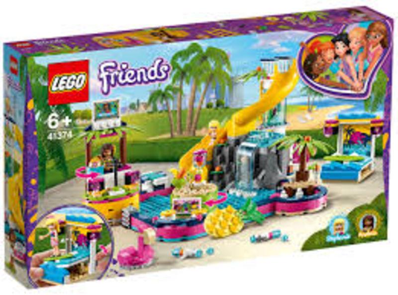 LEGO FRIENDS * FIESTA EN LA PISCINA DE ANDREA