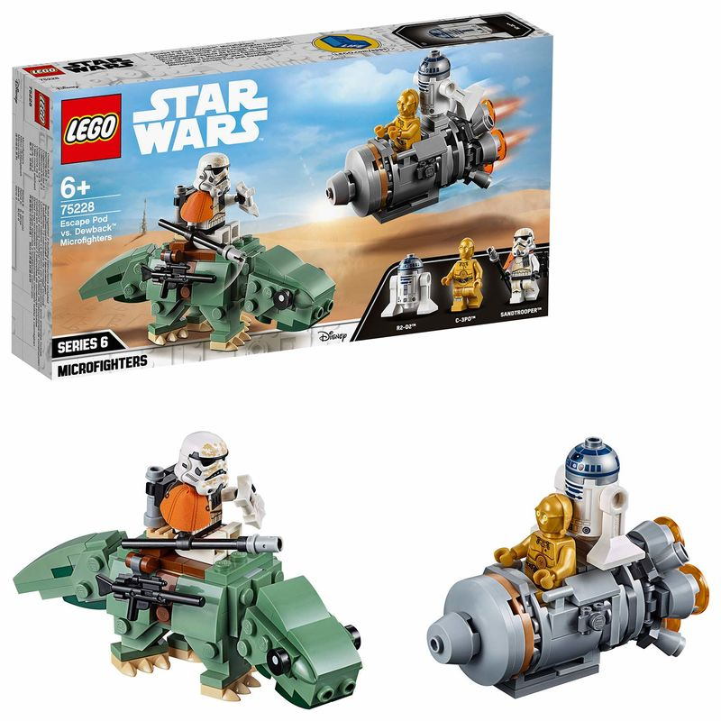 LEGO STAR WARS * MICROFIGHTERS : CAPSULA DE R: 75228