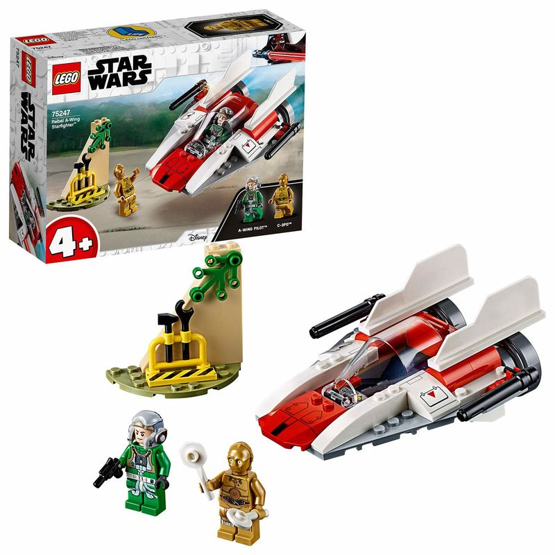 Lego Star Wars * Caza Estelar Rebelde R: 75247 -