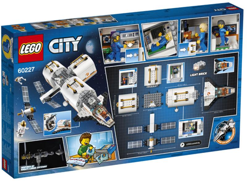 Lego City * Estacion Espacial Lunar -