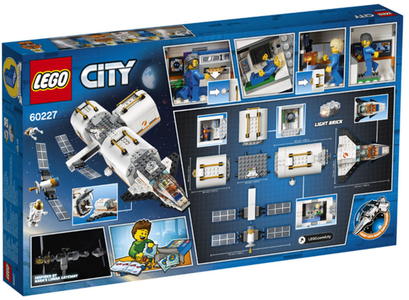 LEGO CITY * ESTACION ESPACIAL LUNAR