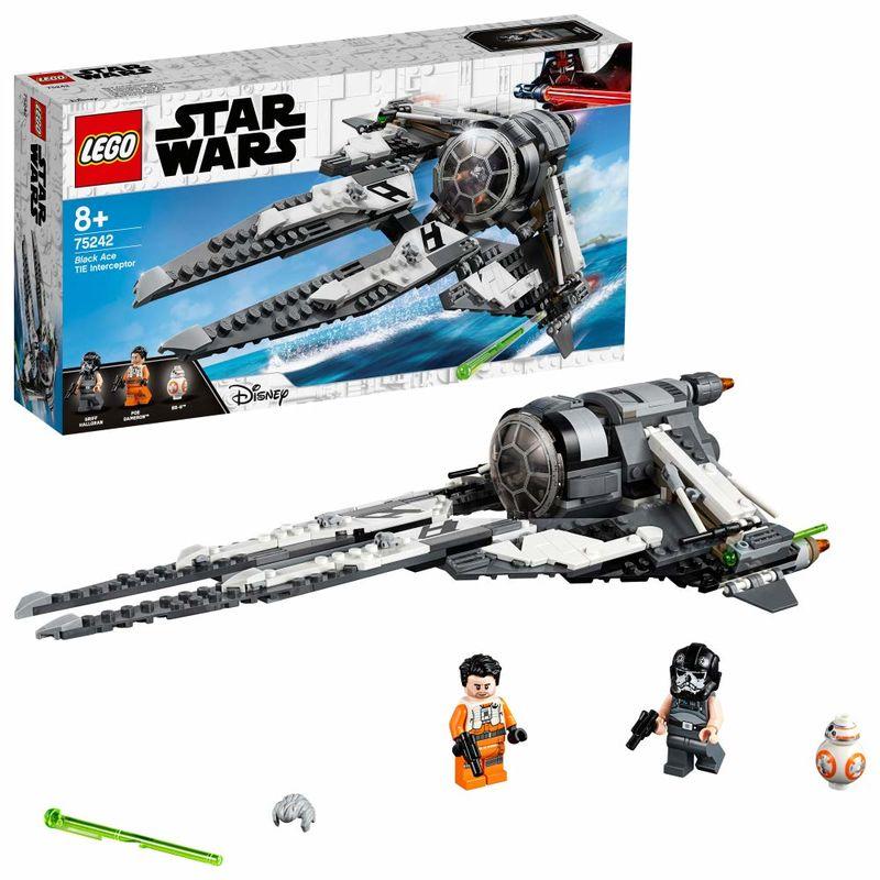 Lego Star Wars * Interceptor Black Ace -