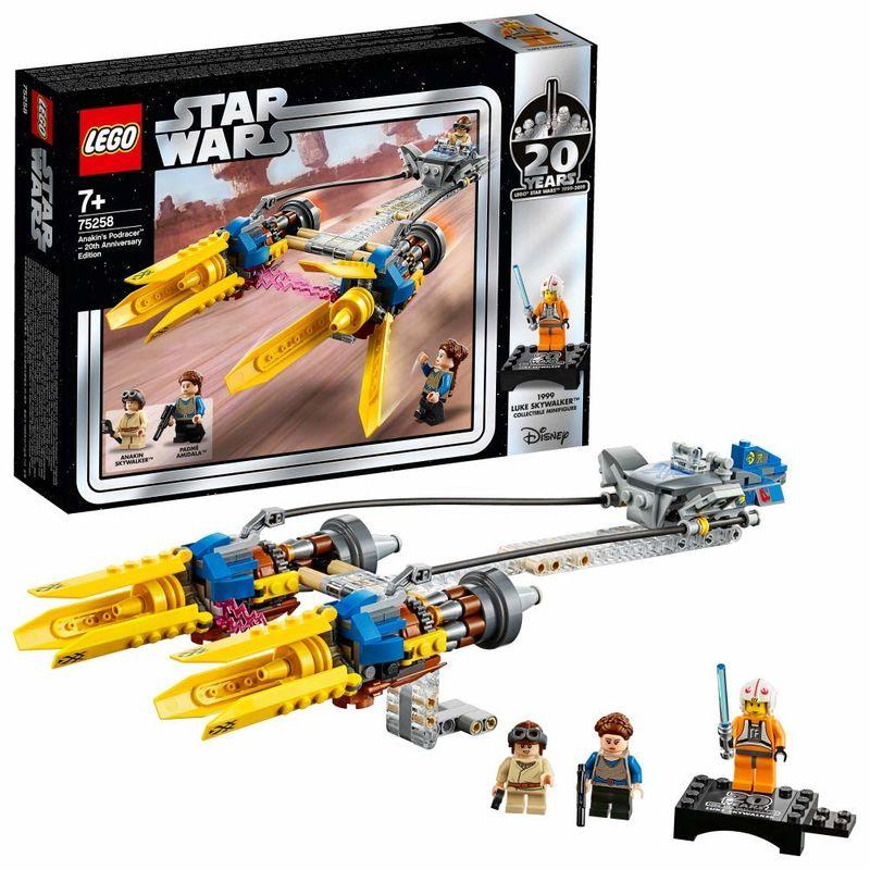 LEGO STAR WARS * VAINA DE CARRERAS DE ANAKIN. .. 3