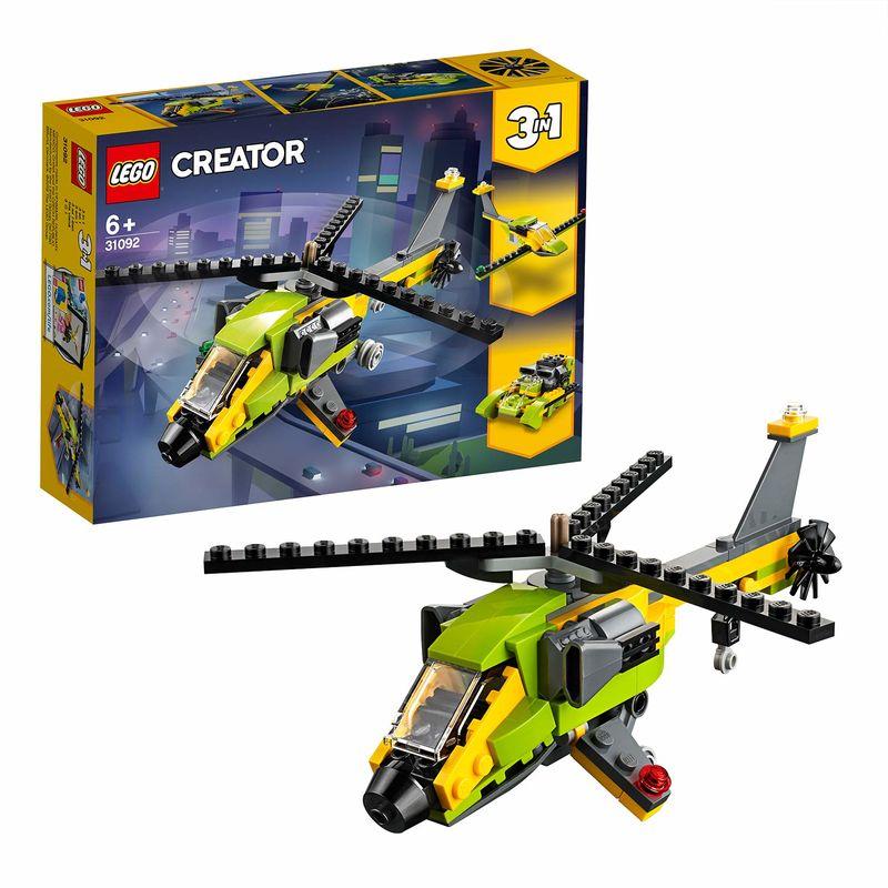 LEGO CREATOR * AVENTURA EN HELICOPTERO R: 31092