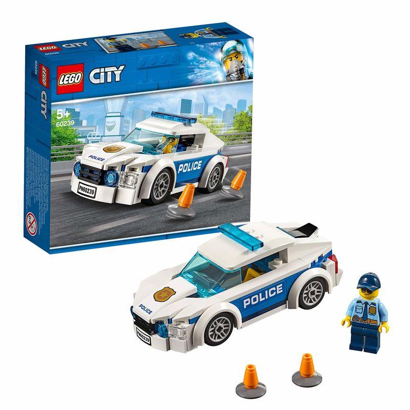 LEGO CITY * COCHE PATRULLA DE LA POLICIA R: 60239