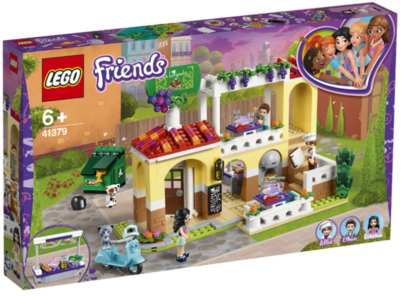 LEGO FRIENDS * RESTAURANTE DE HEARTLAKE CITY