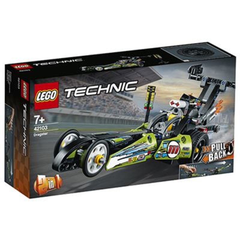 LEGO TECHNIC * DRAGSTER