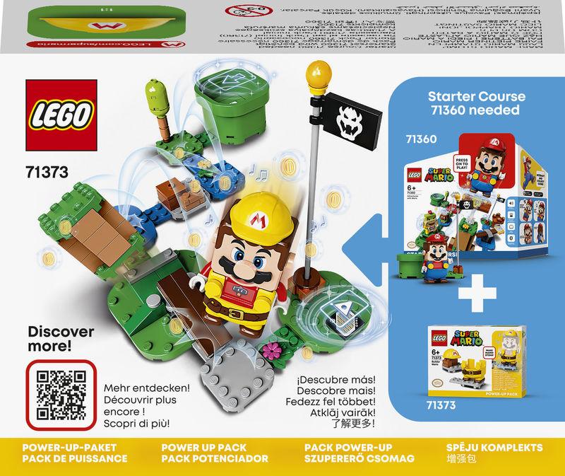 LEGO SUPER MARIO BROS * PACK POTENCIADOR: MARIO CONSTRUCTOR