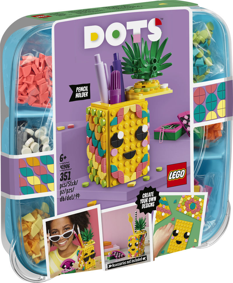 LEGO DOTS * PORTALAPICES PIÑA