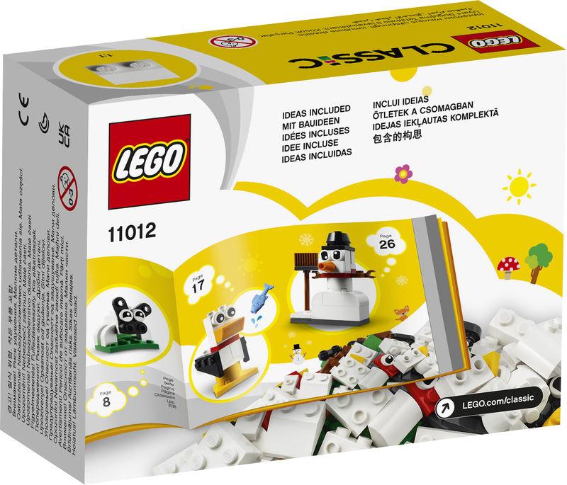 LEGO CLASSIC * LADRILLOS CREATIVOS BLANCOS