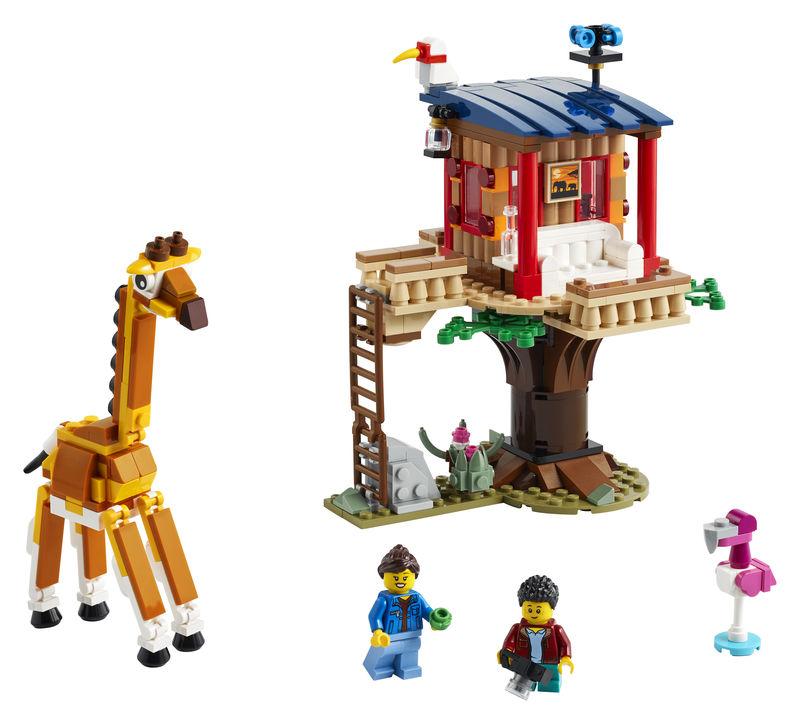 LEGO CREATOR * CASA DEL ARBOL EN LA SABANA