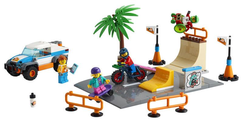LEGO CITY * PISA DE SKATE