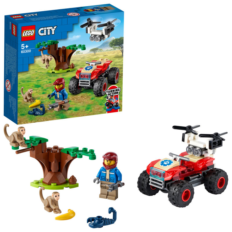 LEGO CITY * RESCATE DE LA FAUNA SALVAJE