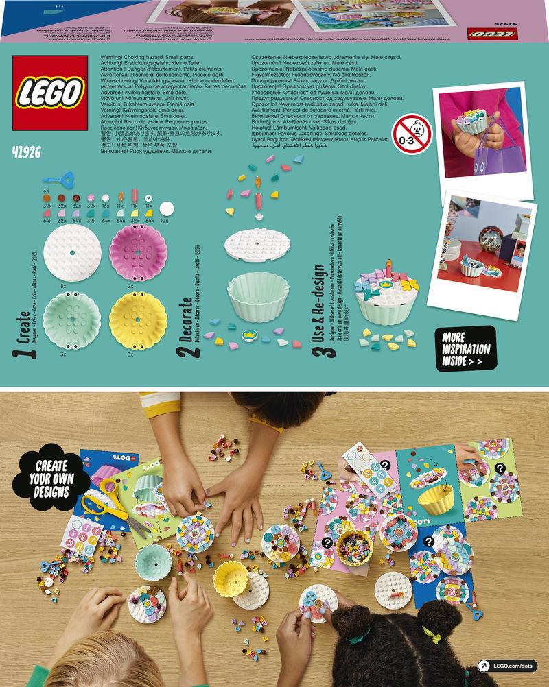 LEGO DOTS * KIT PARA FIESTA CREATIVA