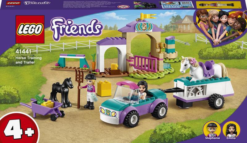 LEGO FRIENDS * ENTRENAMIENTO Y REMOLQUE ECUESTE