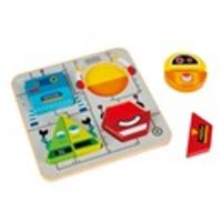 ROBOT SORT & STAND UP PUZZLE R: OHPE0446