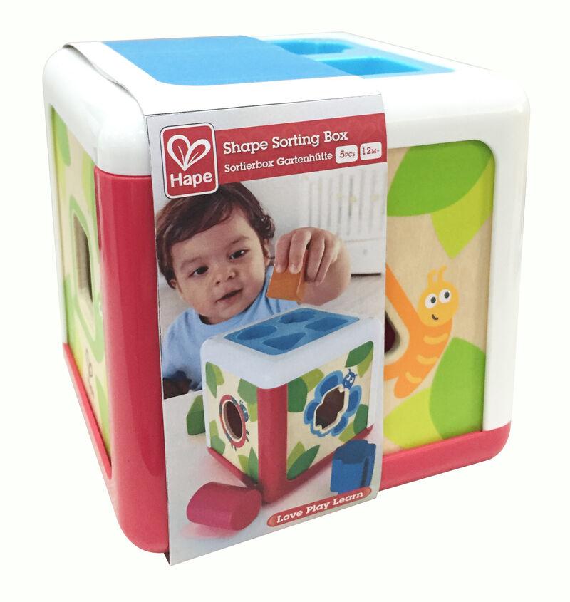 Cubo Clasificador De Formas Y Colores -