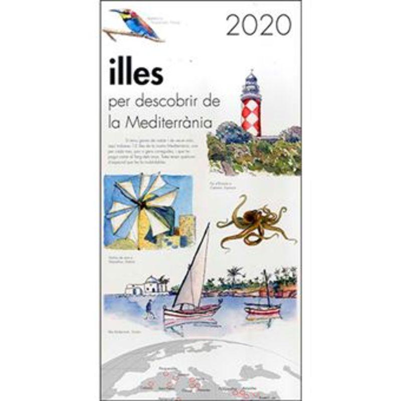 2020 CALENDARI ILLES PER DESCOBRIR DE LA MEDITERRANIA
