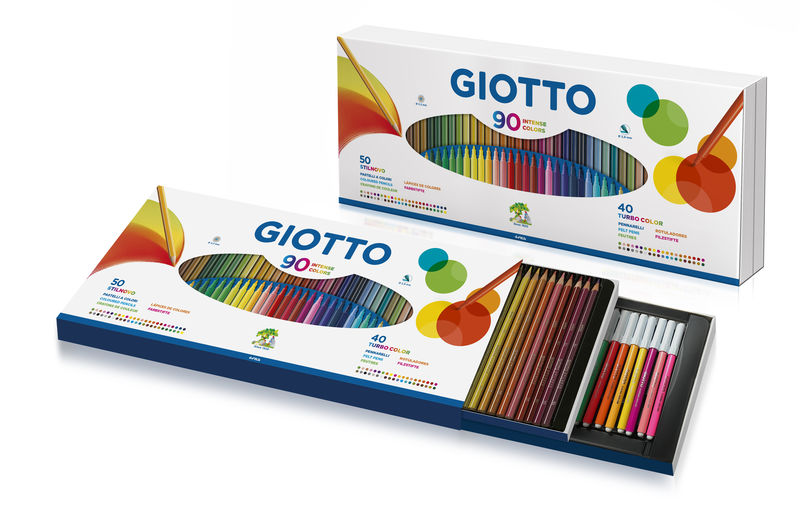 EST / 90 LAPICES STILNOVO + ROTULADORES TURBO COLOR GIOTTO R: 257500