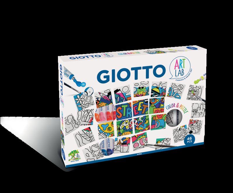 GIOTTO MAXI ART LAB COLOR & PUZZLE - GUACHE