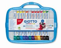 C / 24 TEMPERAS GIOTTO TUBOS 12ml R: 305100