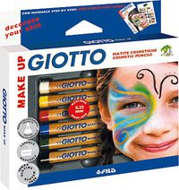 GIOTTO MAKE UP * C / 6 LAPICES COSMETICOS R: 470200