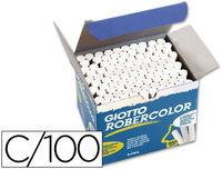 C / 100 TIZAS GIOTTO ROBERCOLOR BLANCAS R: 538800