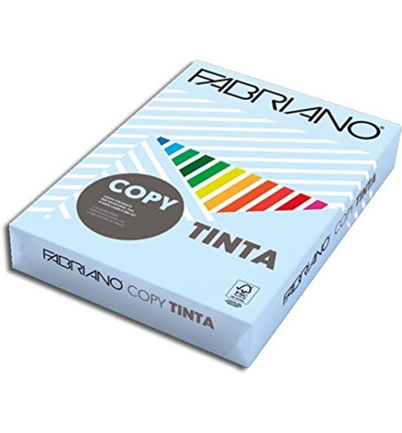PAQ / 500H PAPEL A4 COLORES INTENSOS 80gr CIELO R: F68821297