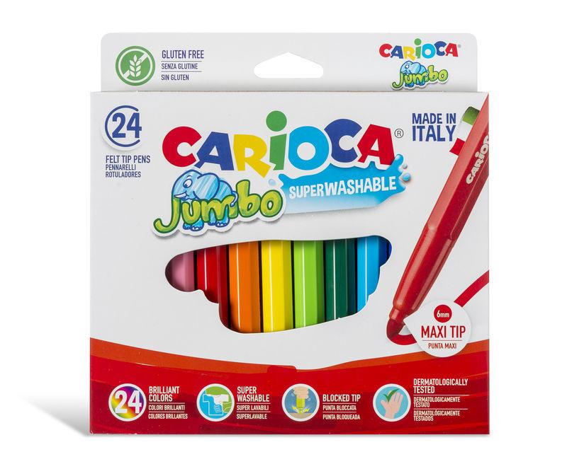 Rotul. Carioca Jumbo 24 Col. R: A52100024 -